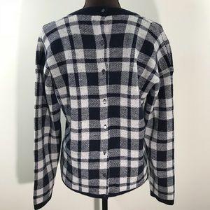 Madewell 100% Merino Wool Button Back Sweater